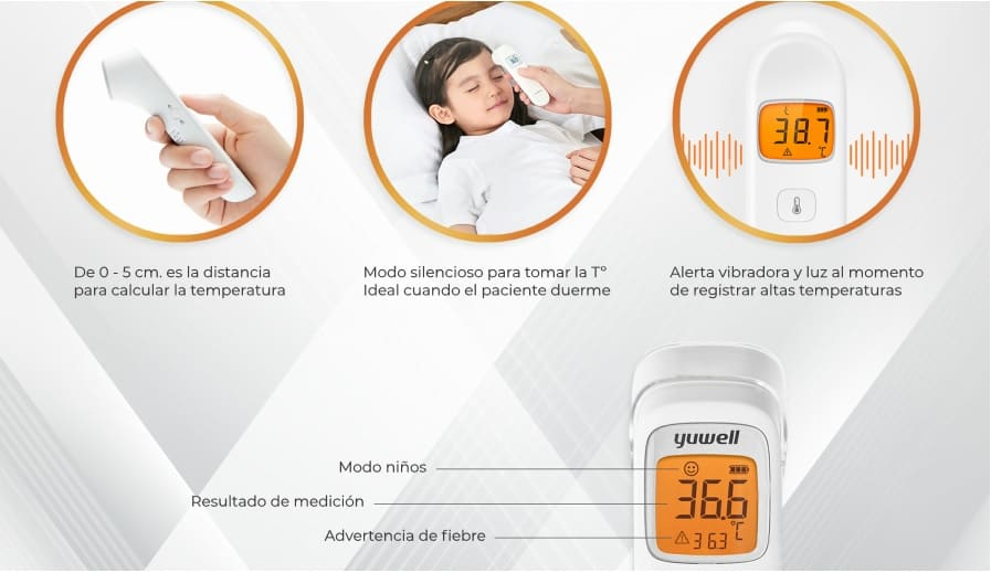 Termometro Certificado Infrarrojo Digital Yuwell Yh W3 Portalhealth Only 4,71€, shop mrosaa yuwell yt306 medical electric thermometer at banggood.com. termometro certificado infrarrojo digital yuwell yh w3